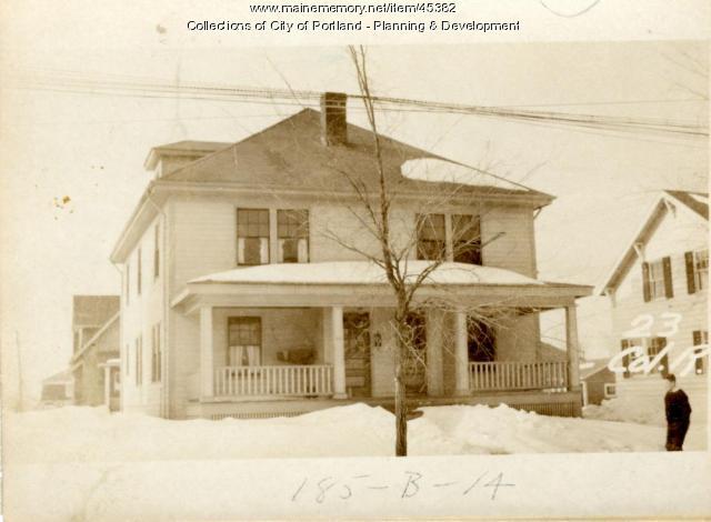 23 Colonial Road, Portland, 1924