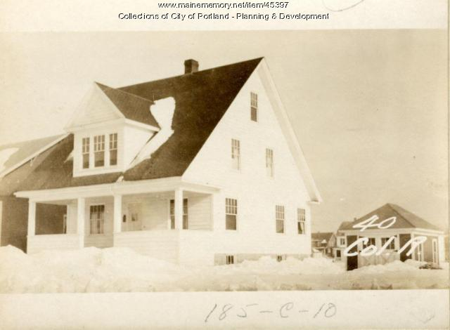 40 Colonial Road, Portland, 1924