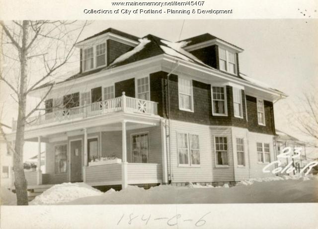 25-27 Columbia Road, Portland, 1924