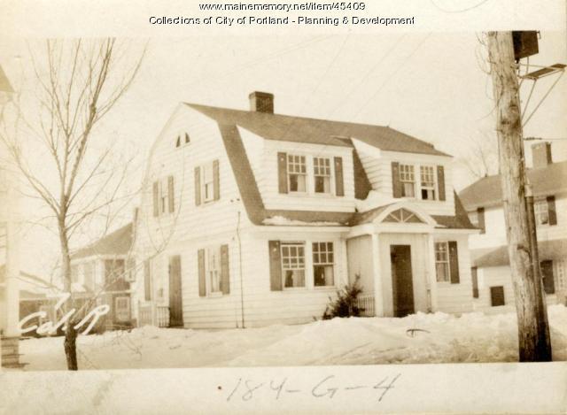 7 Colonial Road, Portland, 1924