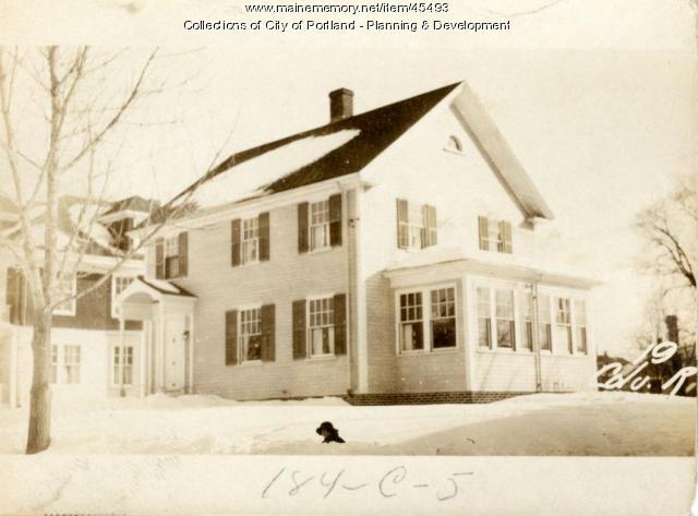 21 Columbia Road, Portland, 1924