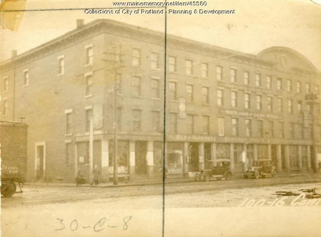 102-104 Commercial Street, Portland, 1924