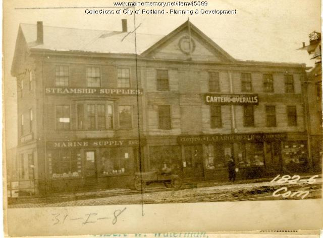 180 Commercial Street, Portland, 1924