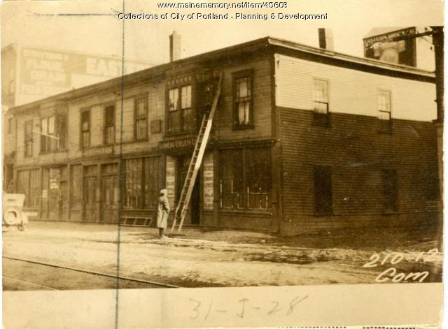 204-206 Commercial Street, Portland, 1924