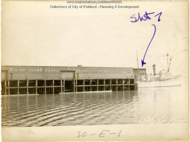 State Pier, Portland, 1924
