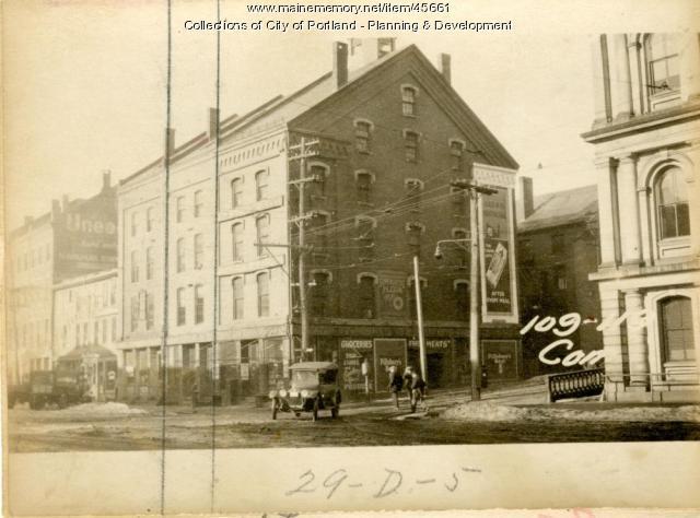 113-15 Commercial Street, Portland, 1924