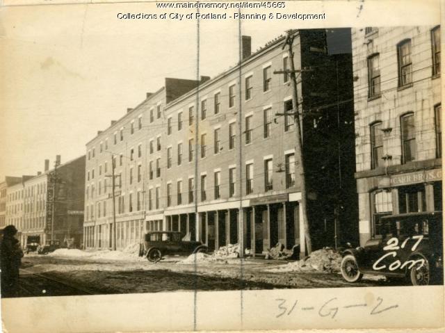 219 Commercial Street, Portland, 1924