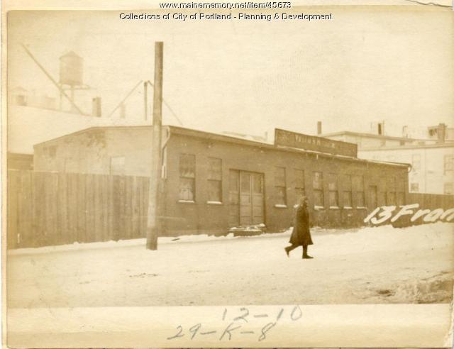 12 Franklin Street, Portland, 1924
