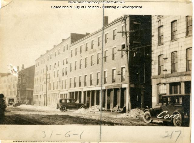 217 Commercial Street, Portland, 1924