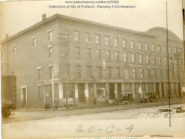 118-120 Commercial Street, Portland, 1924
