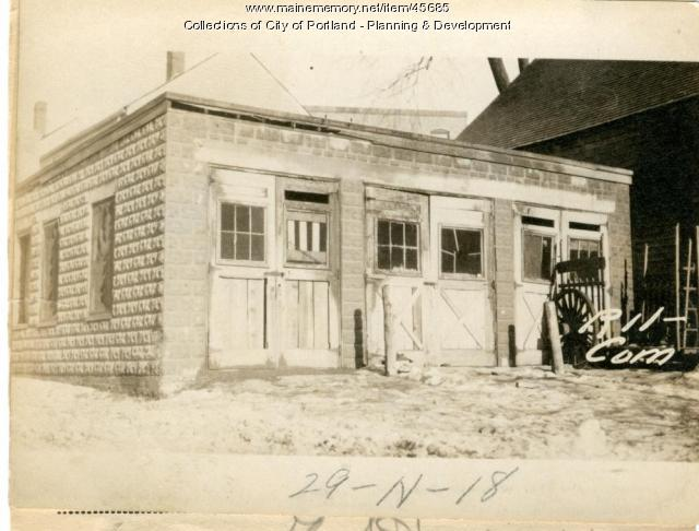 11 Commercial Street, Portland, 1924