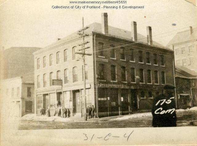 175-181 Commercial Street, Portland, 1924