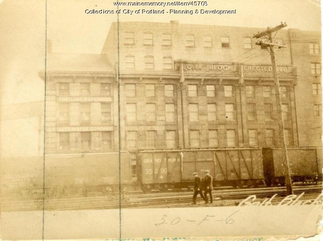 16-18 Commercial Street, Portland, 1924