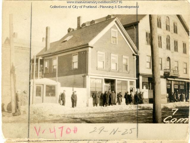 7-9 Commercial Street, Portland, 1924