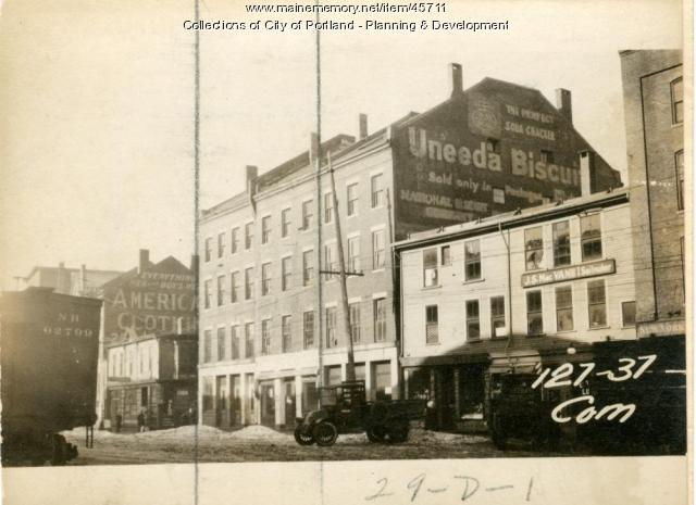 131-137 Commercial Street, Portland, 1924