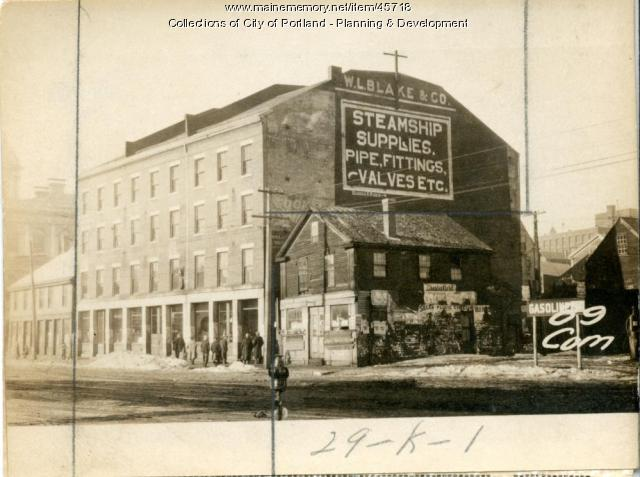 79-85 Commercial Street, Portland, 1924