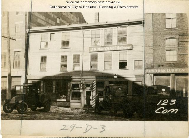 121-125 Commercial Street, Portland, 1924