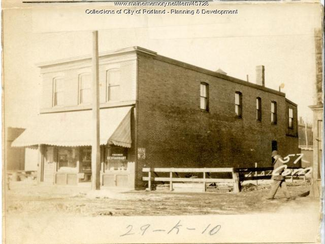 57-59 Commercial Street, Portland, 1924