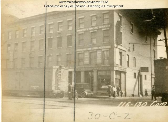 126 Commercial Street, Portland, 1924