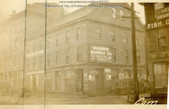 144 Commercial Street, Portland, 1924