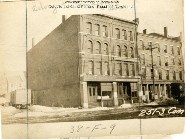 249-251 Commercial Street, Portland, 1924