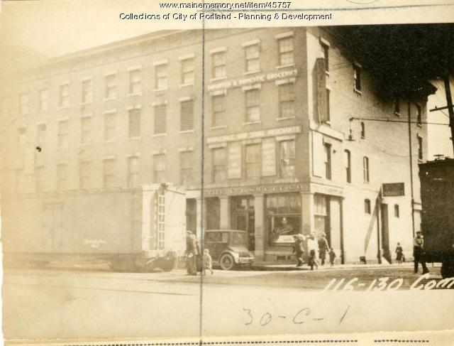 128-130 Commercial Street, Portland, 1924