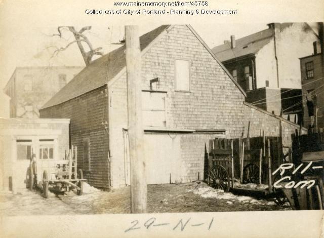 11 Commercial Street, Portland, 1924