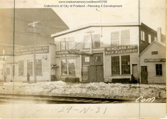 25-31 Commercial Street, Portland, 1924