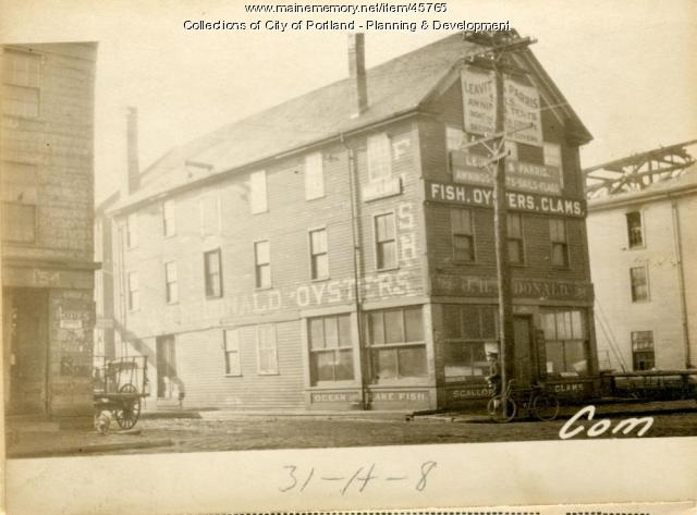 158 Commercial Street, Portland, 1924
