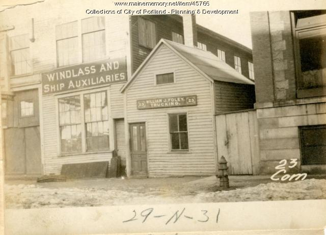 23-31 Commercial Street, Portland, 1924