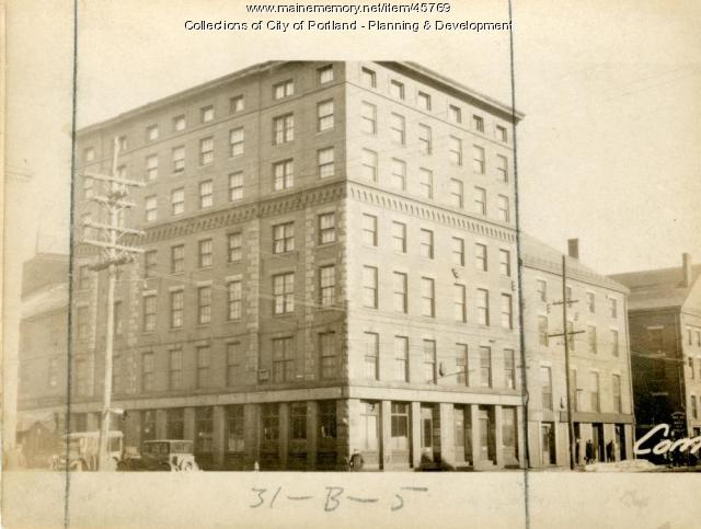 165-171 Commercial Street, Portland, 1924