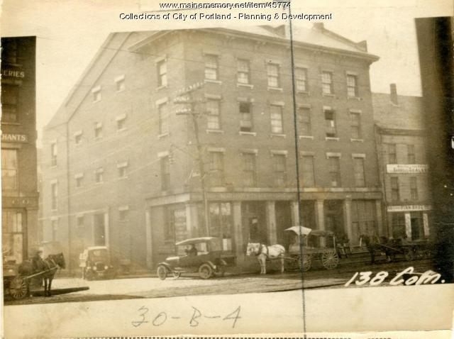 136-138 Commercial Street, Portland, 1924