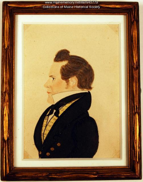 Peter Ayer miniature, Freedom, ca. 1825