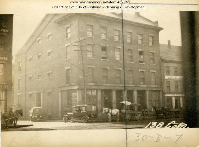 140-142 Commercial Street, Portland, 1924