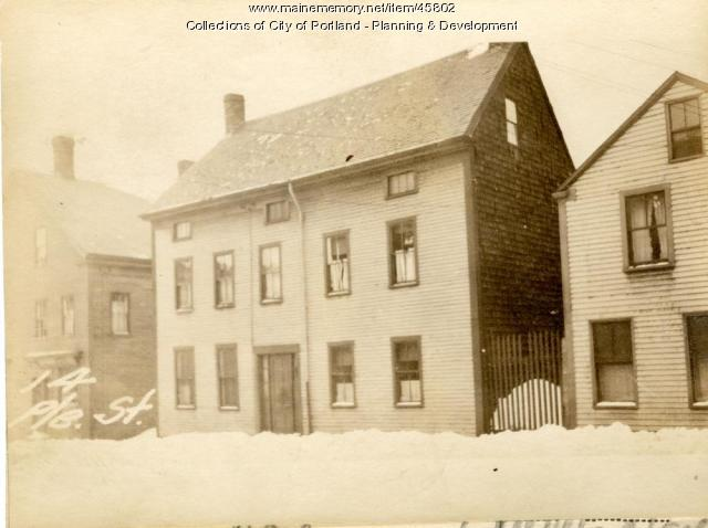 14 Pleasant Street, Portland, 1924