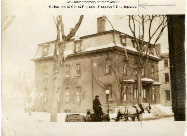 105 Pine Street, Portland, 1924