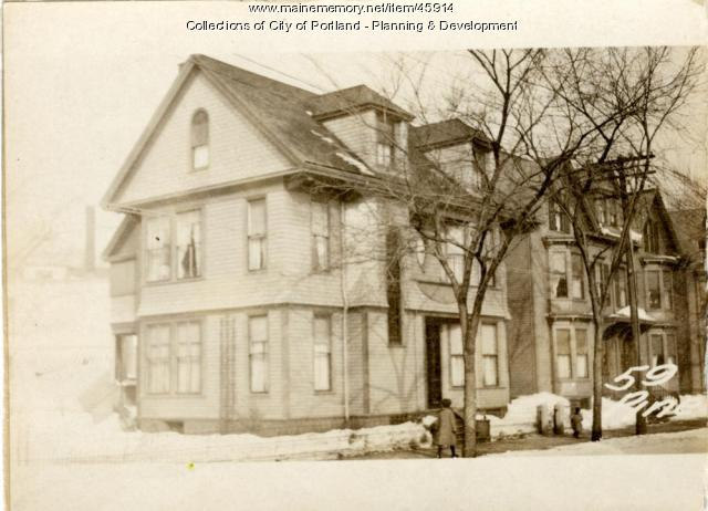 59-63 Pine Street, Portland, 1924