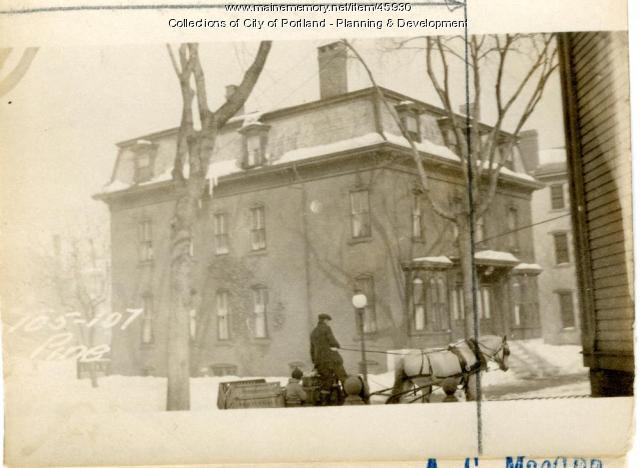 107-113 Pine Street, Portland, 1924