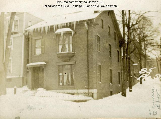 61 Pleasant Street, Portland, 1924