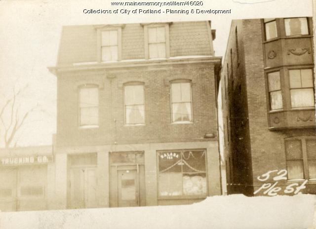 44 Pleasant Street, Portland, 1924