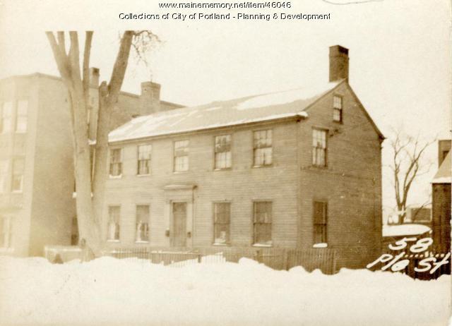 58 Pleasant Street, Portland, 1924