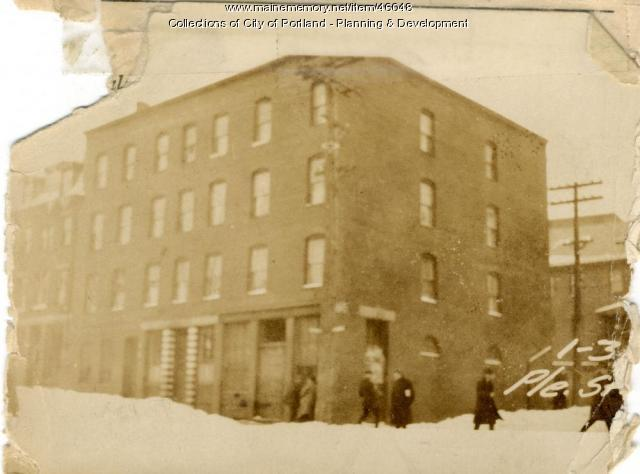 1-5 Pleasant Street, Portland, 1924