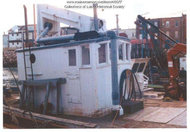 Medric, Colson Boat Shop, Lubec, ca. 1970