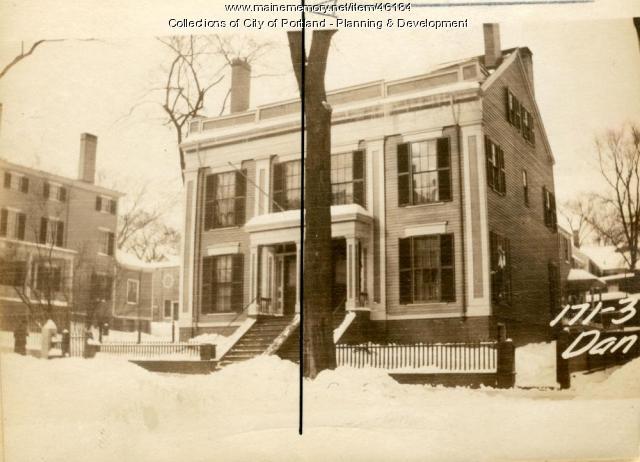 171 Danforth Street, Portland, 1924
