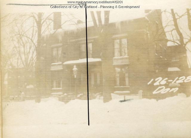 122-126 Danforth Street, Portland, 1924