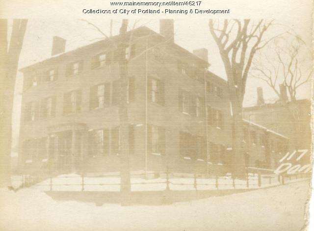 115-125 Danforth Street, Portland, 1924