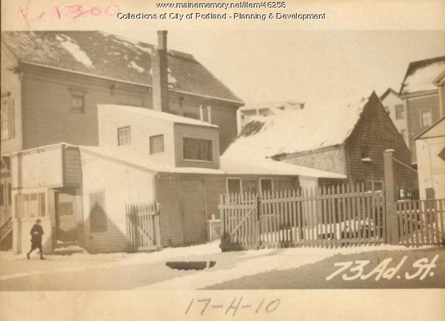 71-73 Adams Street, Portland, 1924