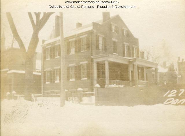 127-129 Danforth Street, Portland, 1924