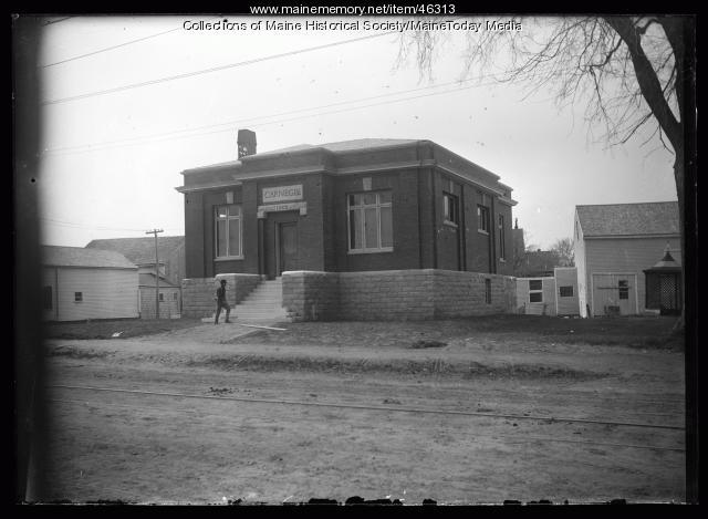 B. H. Bartol Library, Freeport, ca. 1920