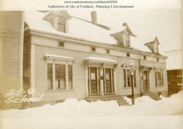 25-31 School Street, Portland, 1924
